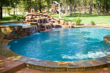 Bluewater pools custom swimming pools spas swimming - Public swimming pools greensboro nc ...